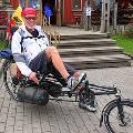 Американский велосипедист отправится в последнее путешествие в посылке