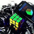 Лего-робот собрал кубик Рубика быстрее, чем человек