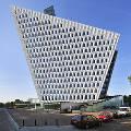 В Голландии построили здание в виде бумажного самолетика