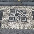 В Праге появился необычный QR-код