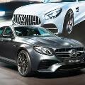 Mercedes выводит на рынок обновлённый седан  E 63 AMG