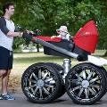 Skoda сделала детскую коляску более мужественной