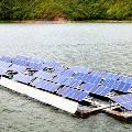 Индийские инженеры создали первую наводную солнечную батарею