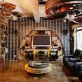 Квартира в стиле стимпанк – решение для творческих и креативных людей