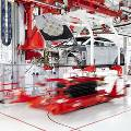Tesla Model S произвдит замену аккумулятора за 90 сек