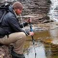 Палку для треккинга совместили с фильтром для воды