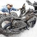 В Таиланде создали мотоцикл из