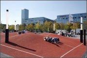 Баскетбольная площадка в 3D