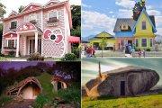 «Мультик» сделать былью: топ-10 удивительных копий домов известных мультгероев