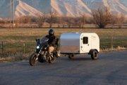 Moby1 C2 Trailer – дом на колесах для любителей мотоциклов