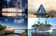Жизнь на воде. ТОП-10 самых необычных в мире плавающих домов