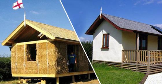 Использование соломы – инновация в эко-строительстве