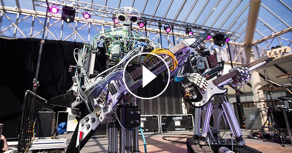 Рисующие роботы Пиндара ван Армана