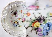 Идеи вашего дома: Фарфоровая посуда с нарисованными муравьями