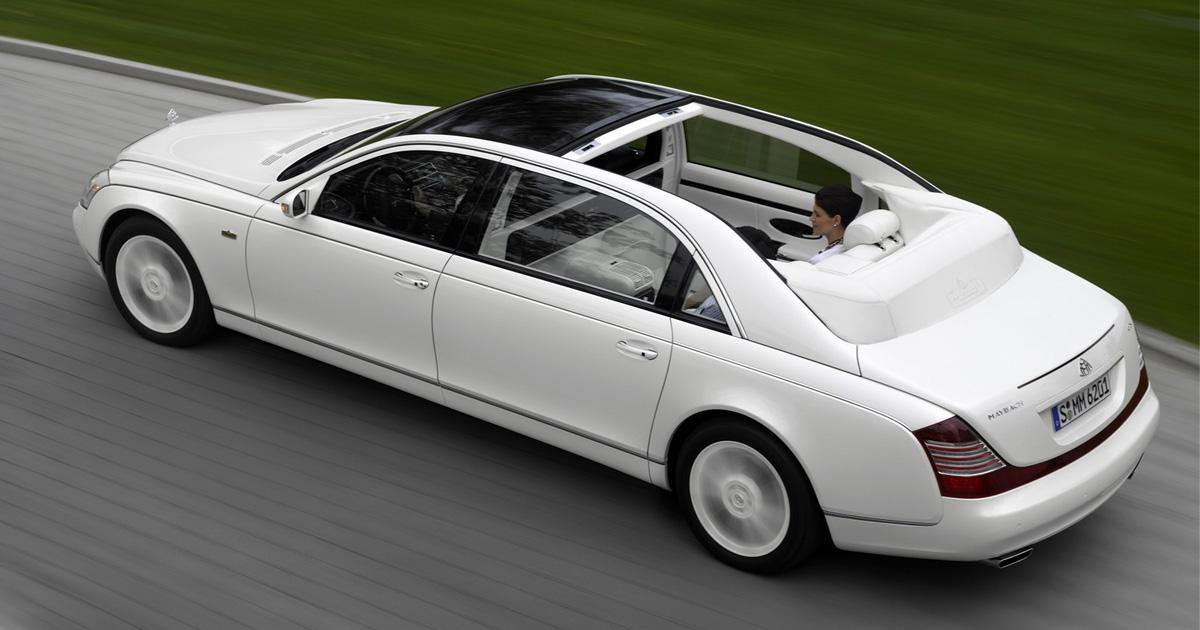 10 самых дорогих и роскошных лимузинов в мире