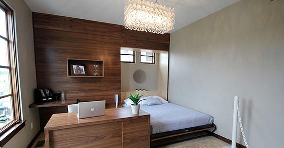 Как оборудовать домашний офис в спальне: 20 самых потрясающих и креативных идей