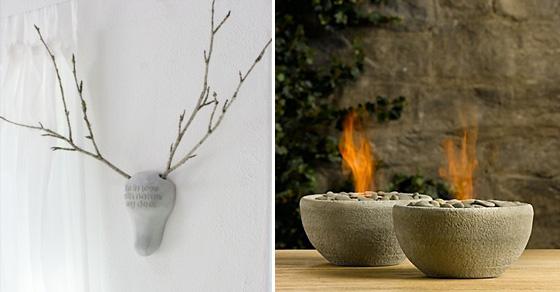 13 милых идей создания предметов декора из цемента