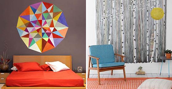 10 простых и креативных идей для обновления стен квартиры