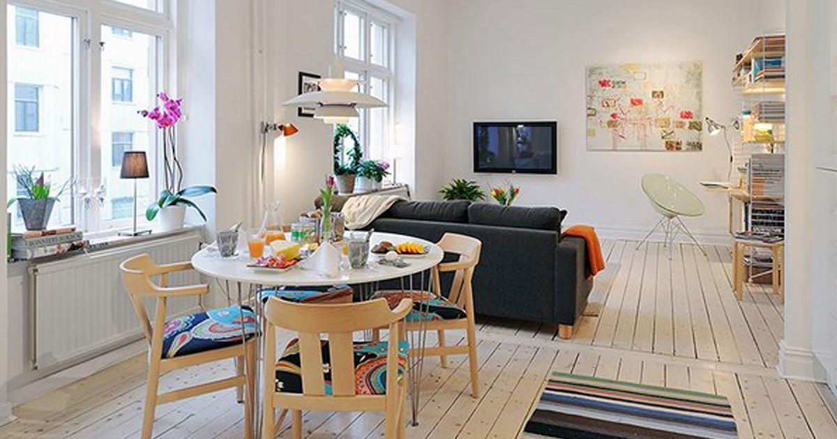 16 советов по обустройству небольшой квартиры