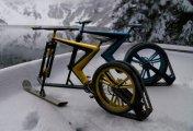 ���������-�������� Sno Bike ��� ������� � ������ ����� ����