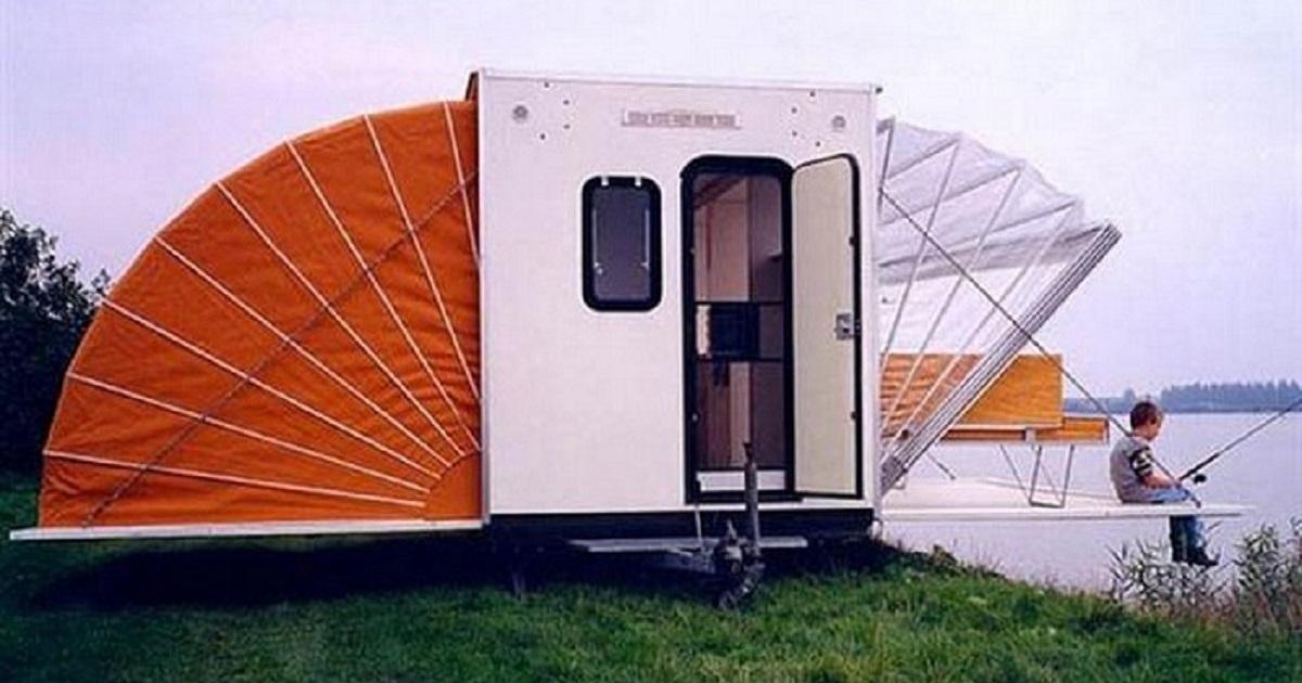 Мобильный домик-«раскладушка»: Оптимальный вариант для отдыха и рыбалки