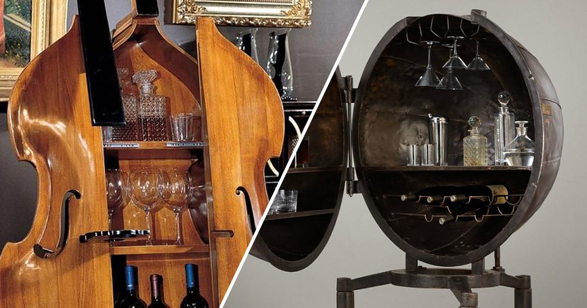 10 потрясающих домашних баров, которые не оставят равнодушными ваших гостей