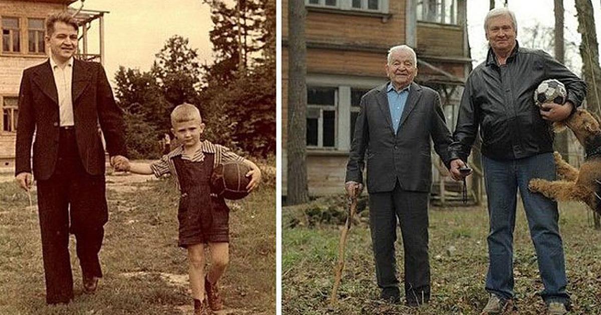 Любимые семейные фотографии много лет спустя – отличный повод для смеха и веселья
