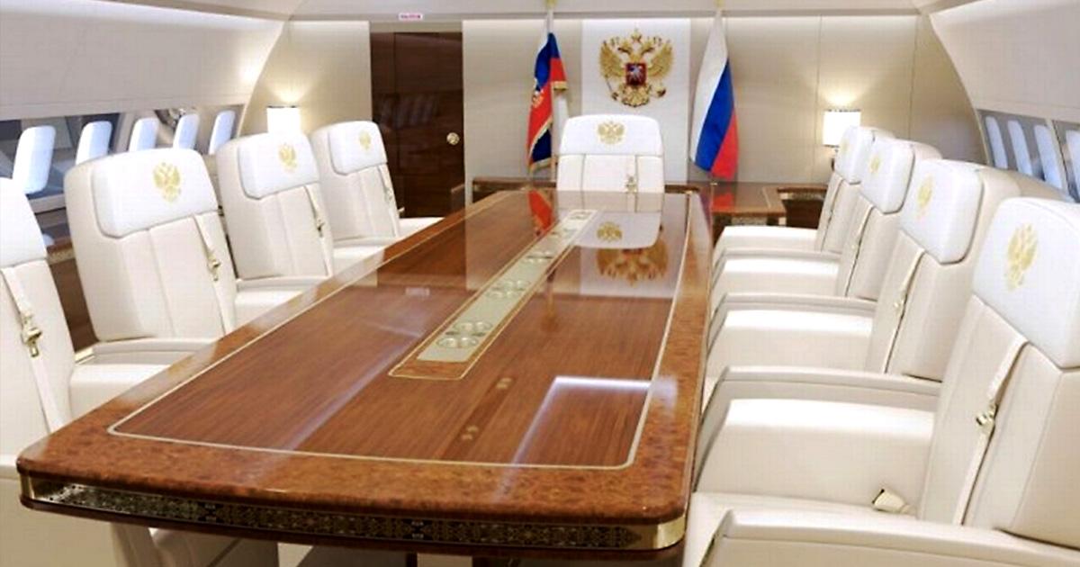 Новый самолёт российского президента будет роскошнее лайнеров арабских шейхов
