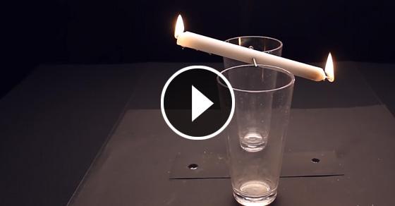 Видео-инструкция: 10 интересных трюков с огнем