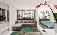 идеи нестандартный подход оформлению однокомнатной квартиры пермской дизайнерской