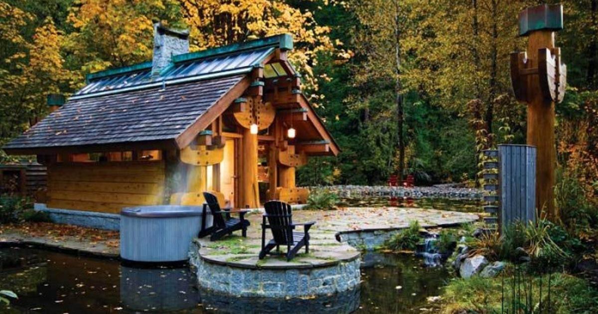 Деревянный домик площадью всего 37 кв. метров: отличный вариант для загородного отдыха