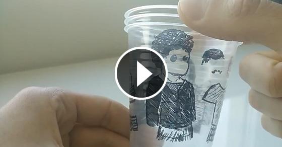Как сделать классную игрушку, используя обычные пластикоые стаканы