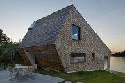 архитектура поближе природе нестандартный дом многоярусной планировкой