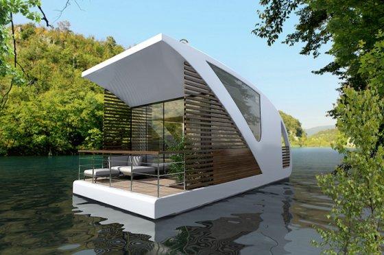 Неспешный отдых на воде: концепт нестандартного отеля-катамарана