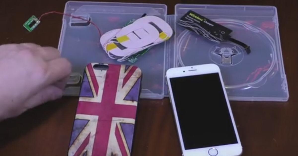 Как сделать беспроводное зарядное устройство для смартфона своими руками