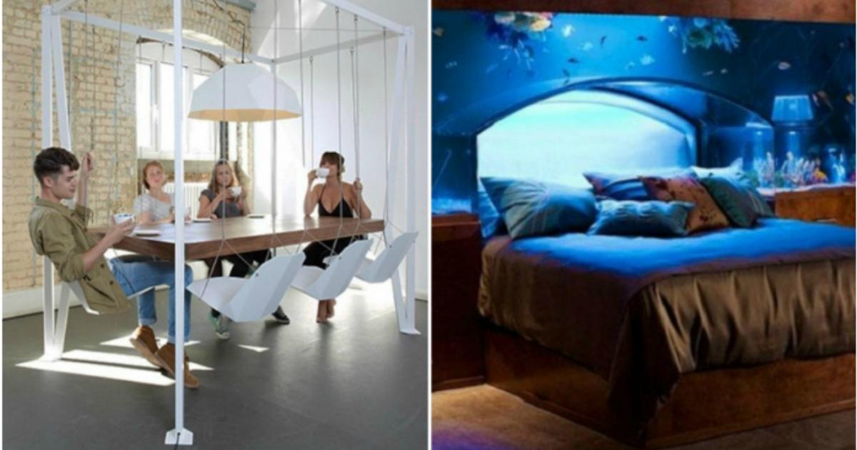 19 фантастических дизайнерских решений, которые сделают дом неповторимым