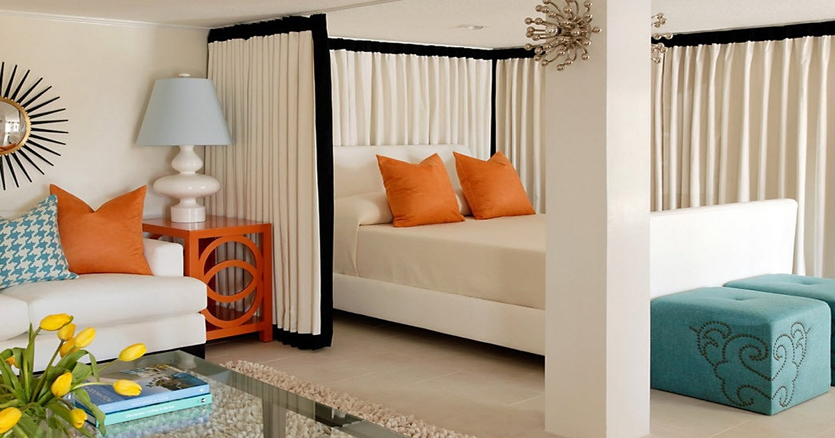 Спальное место в однушке: 7 идей и 20 примеров