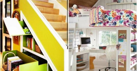 15 простых и эффективных идей меблировки маленькой квартиры