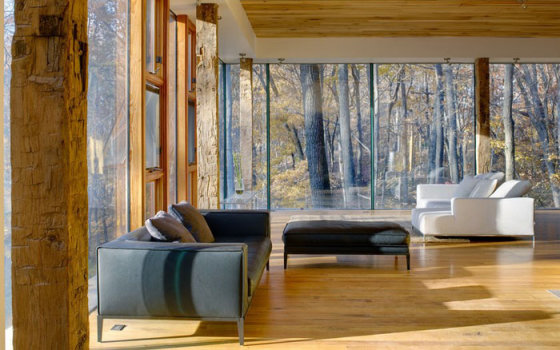 Предел мечтаний: 10 гостиных с потрясающими панорамными видами