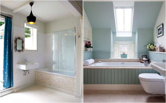 Как обновить встроенную ванну: 9 хитрых дизайнерских приёмов