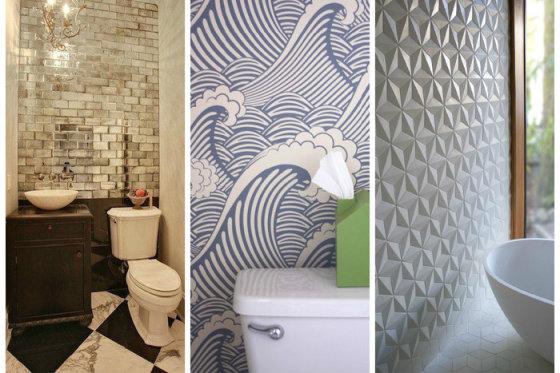 Отделка санузла и ванной: 5 альтернатив наскучившей плитке