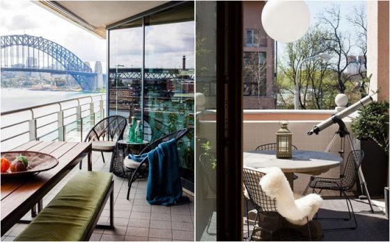 Красивые балконы и террасы
