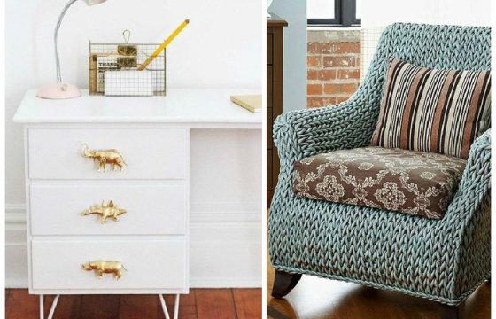 7 крутых способов преобразить старую мебель