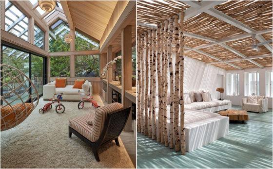 50 ярких и красивых примеров современных застекленных террас
