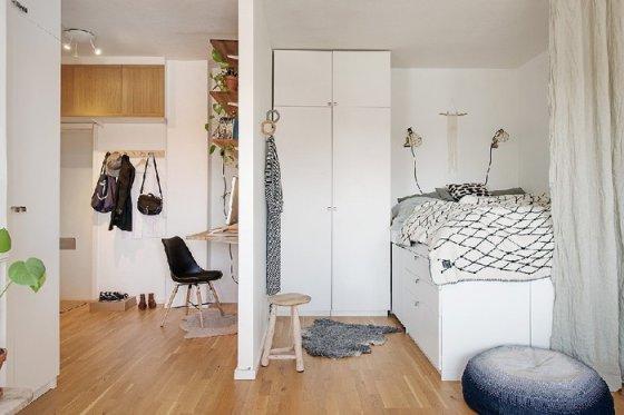 5 эффективных способов зонировать и увеличить площадь маленькой квартиры