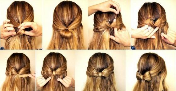 15 стильных причесок для обладательниц длинных волос, которые можно сделать за 5 минут