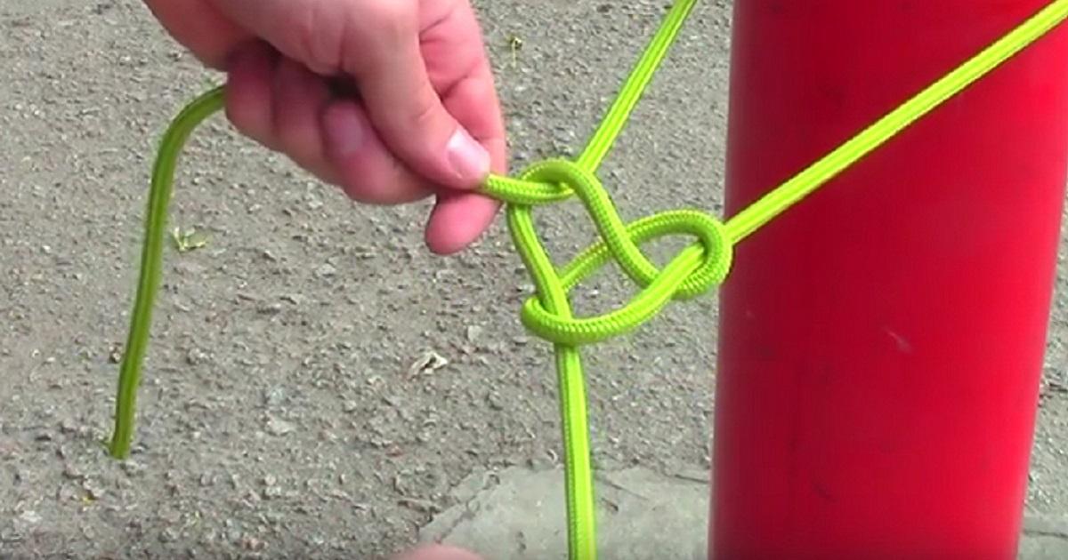 Как завязываются 10 самых ходовых узлов, которые выручают в любой ситуации