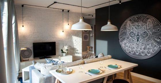 Как сделать стильный интерьер за небольшие деньги: реальный пример из Польши