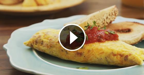 Омлет в пакете: неожиданный и эргономичный способ приготовления любимого блюда
