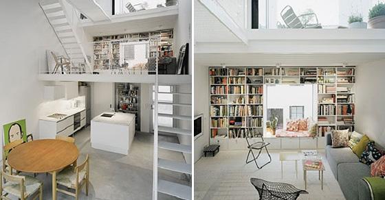 17 прекрасных вариантов оформления книжных полок для дома